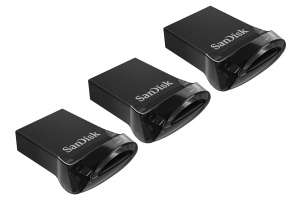 3 X 32GB SanDisk Ultra Fit USB 3.1 Flash Drive for £15.49 Delivered @ Picstop