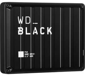 WD _BLACK P10 Game Drive - 4 TB USB - £89.99 @ Currys PC World