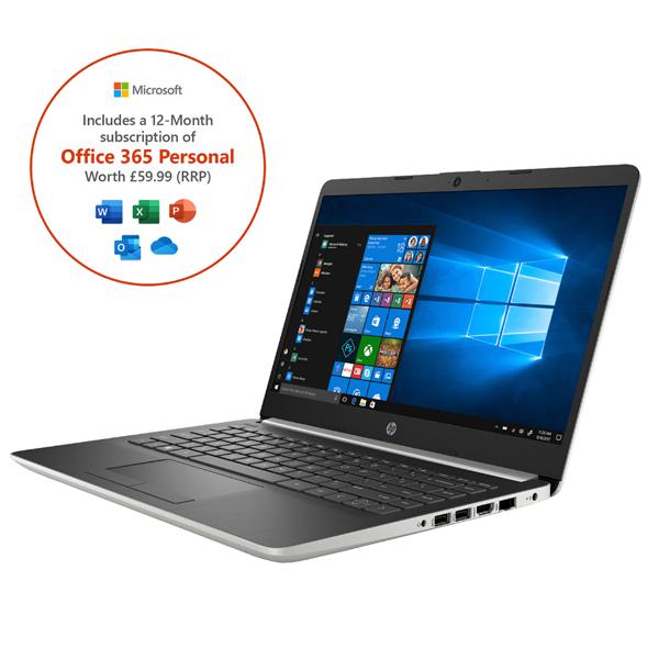 "HP 14"" Laptop - Ryzen 5 / 8GB RAM / 512GB SSD / Full HD + Office 365 Personal 1-year subscription / 1TB Cloud Storage - £369 Using Code @ AO"