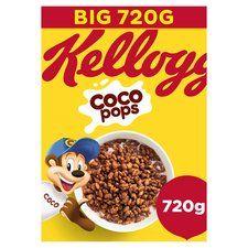 Kellogg's Coco pops 720g £2.50 @ Tesco
