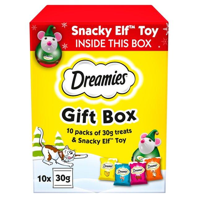 Dreamies Christmas Gift Box Cat Treats (300g) - 50p @ Tesco extra Cardiff Pengam