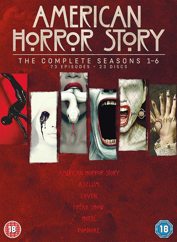 American Horror Story: The Complete Seasons 1-6 [DVD] {23 discs!] £26.72 @ amazon.co.uk