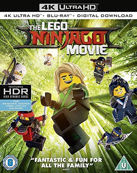The Lego Ninjago Movie [4K UHD] [Blu-ray] £9.99 (Prime) £12.98 (Non Prime) @ Amazon