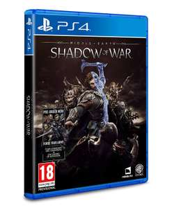 Middle Earth: Shadow of War (PS4) for £4.99 delivered @ Boss Deals via eBay