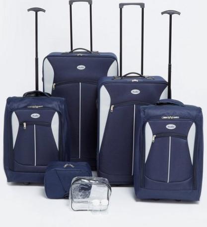 6 piece luggage set £44.98 delivered @ Studio