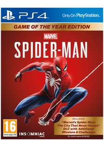 Marvel's Spider-Man Game Of The Year Edition [PS4] for £21.85 Delivered @ Simplygames