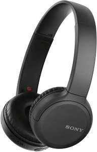 Sony Wh-CH510 Wireless Headphones, 35 Hours Battery Life with Quick Charge, On-ear Style, Hands-Free Call, Voice Assist Black £31 @ Amazon