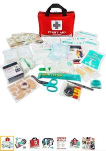 General Medi First Aid Kit -309 Pieces - £10.99 (Prime) £15.48 (Non Prime) @ Sold by General Medika and Fulfilled by Amazon.