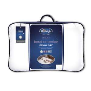 Silentnight Luxury Hotel Collection Pillow - 2 Pack, £12 at Argos (free collection)