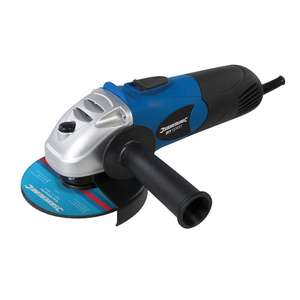 Silverline Tools 571295 DIY 650W Angle Grinder 115mm, 650 W, Blue £10.95 (Prime) £15.44 (Non-Prime) @ Amazon