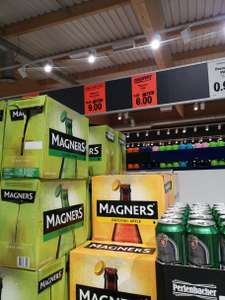 Magners 8 x 500ml £6.00 - LIDL