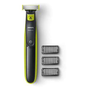 Philips Oneblade QP2520/25 Shave Trimmer with 3 Stubble Combs £25 at Tesco