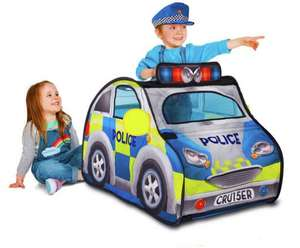 Chad Valley Police Car Pop Up Play Tent with Siren and Hat £12.50 @ Argos (Free Click & Collect)