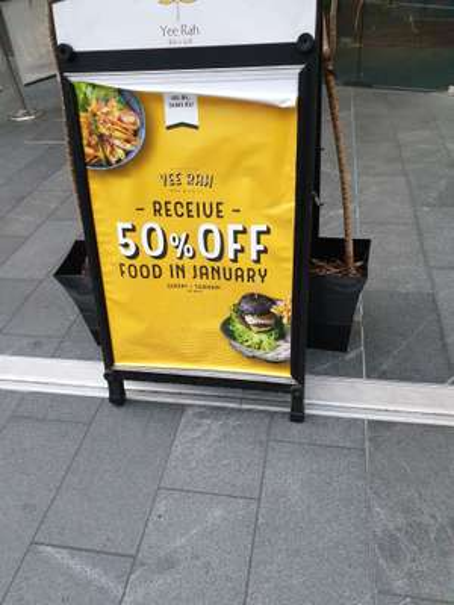 Yee Rah Liverpool 50% off your food bill