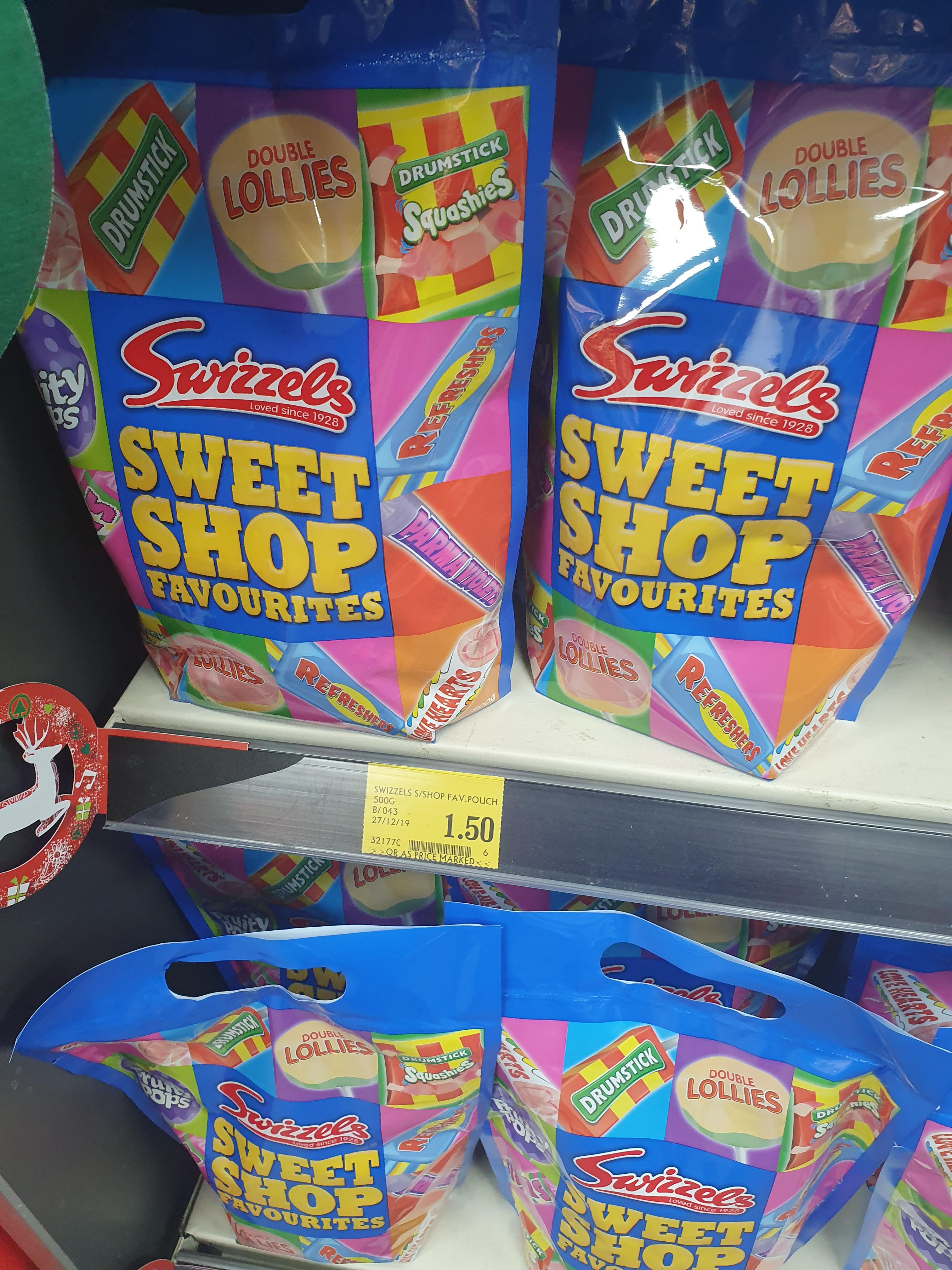 Swizzles Sweet Shop Favouites Pouch 500g £1.50 @ Spar Hagley