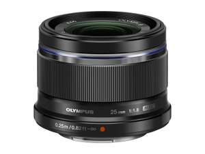 Olympus 25mm 1:1.8 M.Zuiko Digital Lens - Black £199 delivered by Amazon.