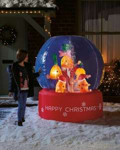 Kevin & Family Inflatable Snow Globe £24.99 @ Aldi