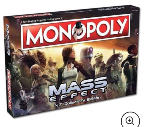 Mass Effect Monopoly- £16.99 Online @ Zavvi