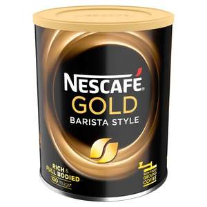 1/2 price Nescafe Barista Gold Blend Style Instant Coffee 180G £3.74 @ Tesco