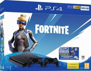 PS4 Slim 500GB Fortnite Neo Versa console bundle + Extra Controller + 2000 V-Bucks £199.98 @ Ebuyer