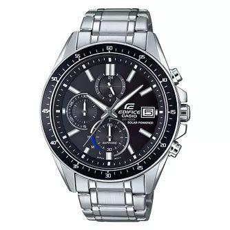 Casio Edifice Men's Solar Powered Steel Bracelet Watch £80 @ H.Samuel