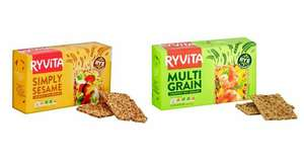Half Price Ryvita Multigrain Rye Bread 250G and Ryvita Sesame Crisp Bread 250G - 62p @ Tesco