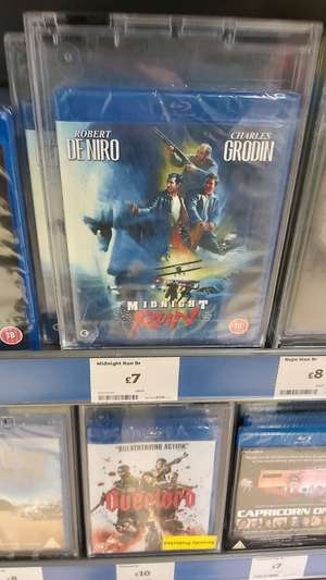 Midnight Run Blu-ray £7 instore @ Sainsbury's