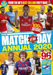 Match of the Day Annual 2020 - Amazon 99p + £2.99 NP