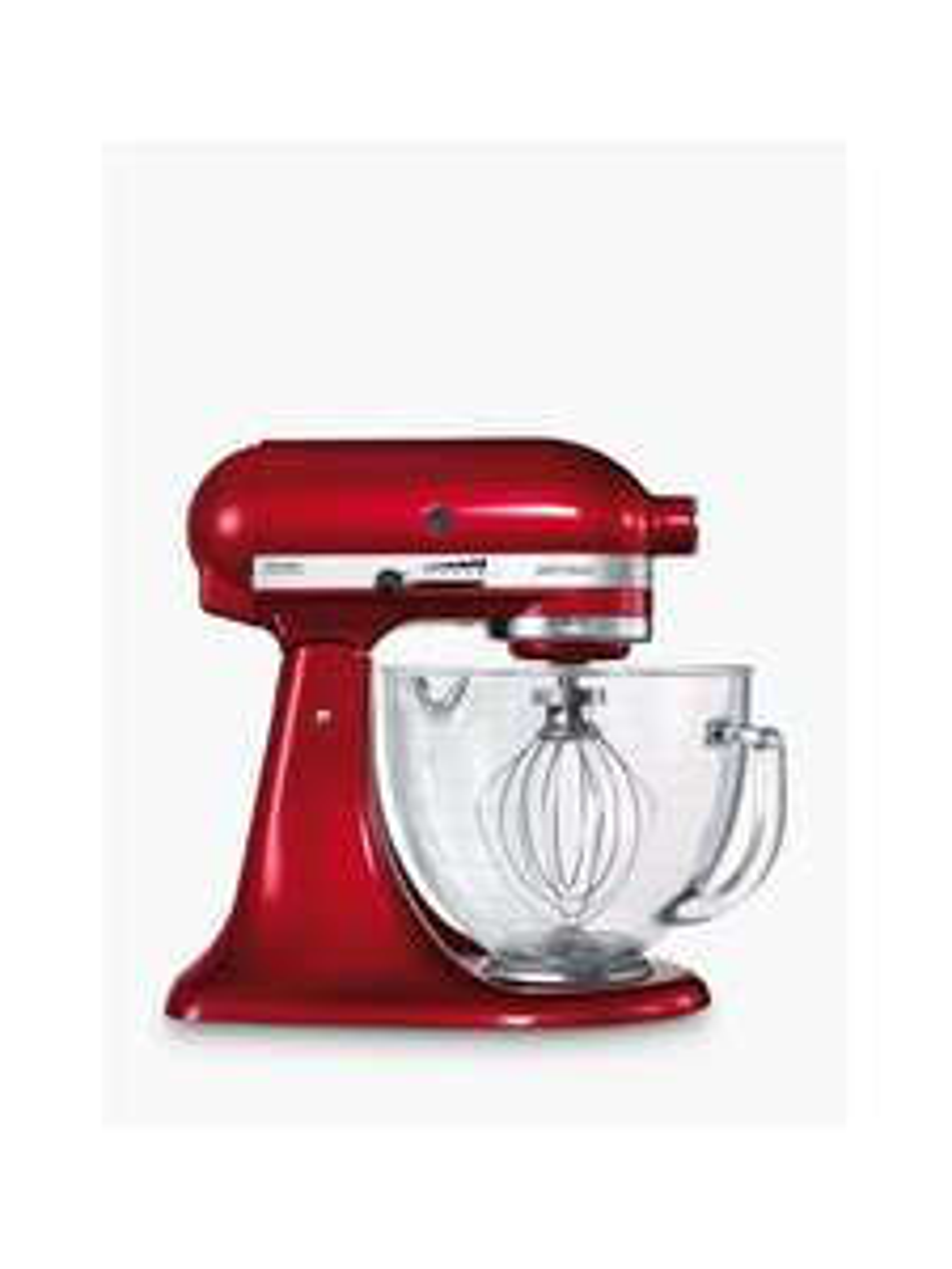 KitchenAid Artisan 4.8L Stand Mixer, Candy Apple Red £329 @ John Lewis & Partners