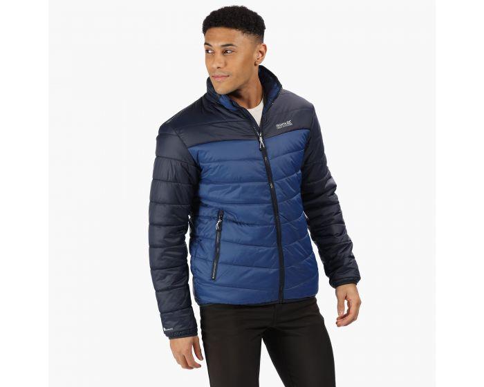 Regatta Men's Freezeway Baffle Jacket - Prussian Blue Navy for £19.99 (free store collection)