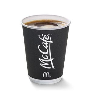 Free McCafé hot drink via app Jan 2020 @ McDonalds