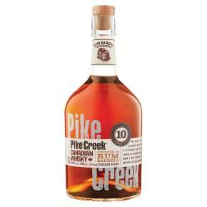 Pike Creek Canadian Whisky 70cl at Waitrose for £20