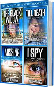 Detective Murder Mystery Crime Thrillers - MARK KANE MYSTERIES 4 BOOK BOXSET Kindle Edition - Free @ Amazon