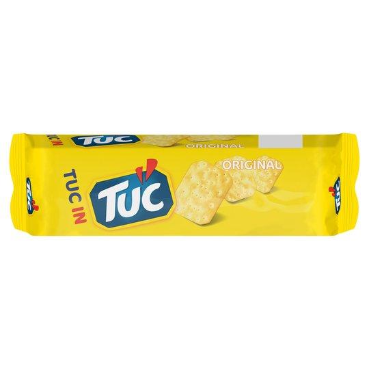 Tuc Snack Cracker 150G at Tesco for 60p