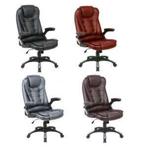 Executive Faux Leather Recliner Chair (optional massage function) at Ebay/neodirect for £55.79
