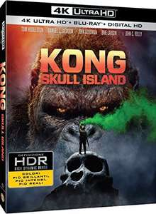 Kong: Skull Island [4K UHD] + Argo [4K UHD] + The Dark Knight [4K UHD], all titles together for £22 delivered @ Amazon.it (£7.33 per movie)