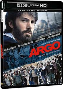 Argo [4K UHD] + Kong: Skull Island [4K UHD] - both titles, together for £14.73 delivered @ Amazon.it (£7.36 per movie)