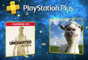 Playstation PSN games for January 2020 including Uncharted: Nathan Drake Collection & Goat Simulator