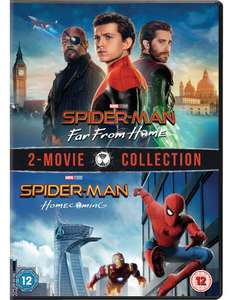 Spider-Man: Homecoming & Spider-Man: Far From Home 2-Movie Collection at iTunes for £15.99