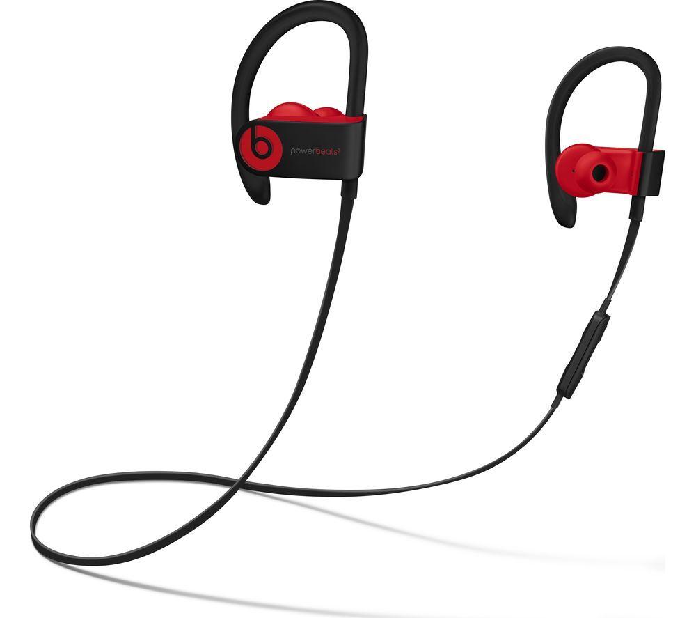 BEATS Decade Collection Powerbeats3 Wireless Bluetooth Headphones - Red & Black £78 @ Currys