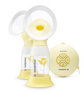 Breast Pump Swing Maxi Flex from Medela, Double Electric Breastpump Save 34% £166.24 @ Amazon