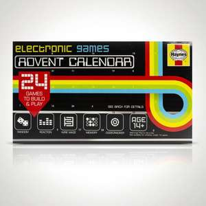 Haynes Electronic Games Advent Calendar - £7 + free Click and Collect @ Menkind