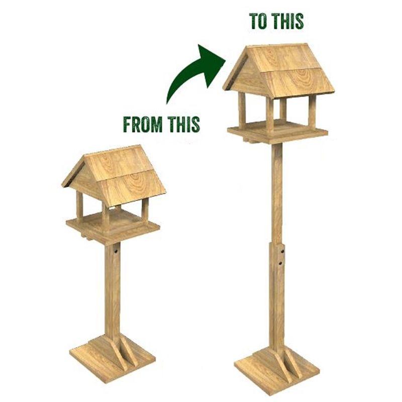 Extendable Bird Table - £7.99 instore @ Homebase (Felixstowe)