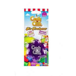 Candy Crush Air Freshener Berry Scent 87p with code @ Euro Car Parts
