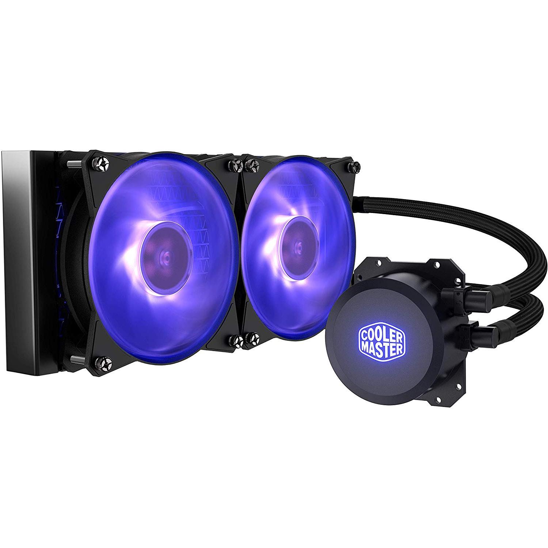 Cooler Master MasterLiquid ML240L RGB Liquid CPU Cooler £47.87 @ Amazon