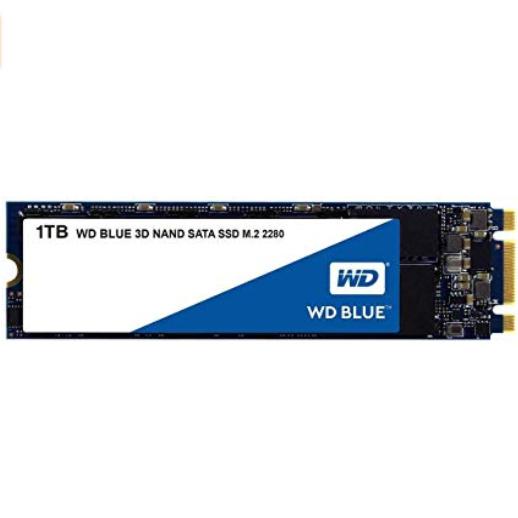 WD Blue 3D NAND 1TB Internal SSD M.2 SATA drive £89.26 at Amazon