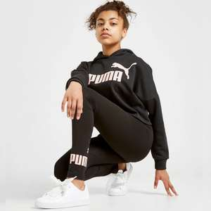 Puma Girls' Core Leggings (up to age 16) now £11.20 click & collect with code @ JD Sports