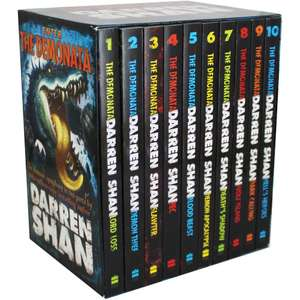 Enter the Demonata - 10 Book Box Set - £7.50@ The Works (free click and collect)