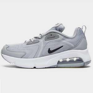 Nike Air Max 200 Junior Trainers (up to size 6) now £30.75 click & collect with code @ JD Sports