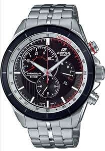 Mens Chronograph Quartz Watch with Stainless Steel Strap (EFR-561DB-1BVUEF) £62.01 @ Amazon